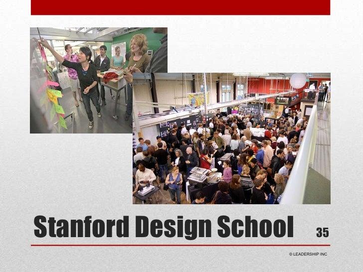 Stanford Design School<br />35<br /> © LEADERSHIP INC<br />