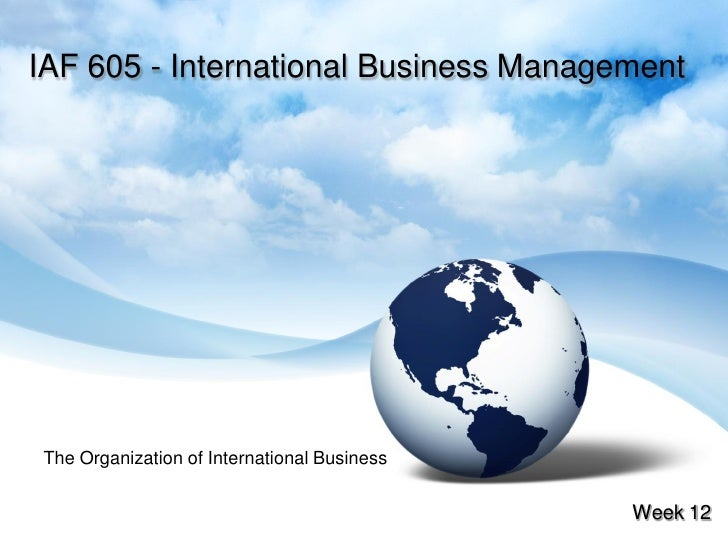 International Business Multiple Choice Questions with answers
