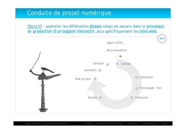 Formation gestion de projet - 01 - introduction à la conduite de projet Slide 2
