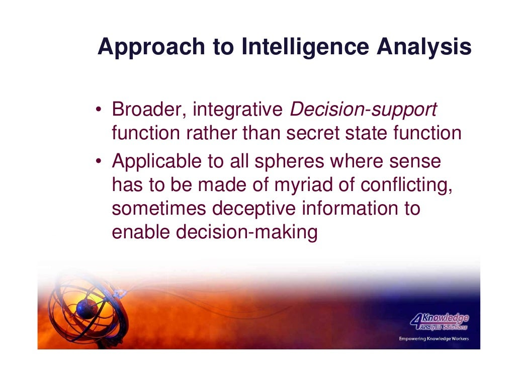 intel analysis Psychology of intelligence analysis - chapter 8 - analysis of competing hypotheses.