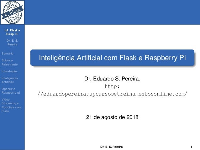 Inteligência Artificial com Flask e Raspberry Pi