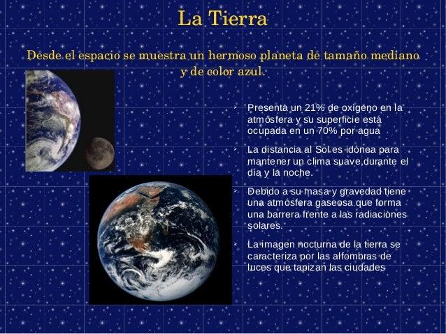 LaTierraDesdeelespaciosemuestraunhermosoplanetadetamañomediano                          ydecolorazul.      ...