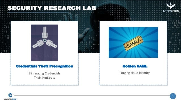 Research Review - Cyberark Labs