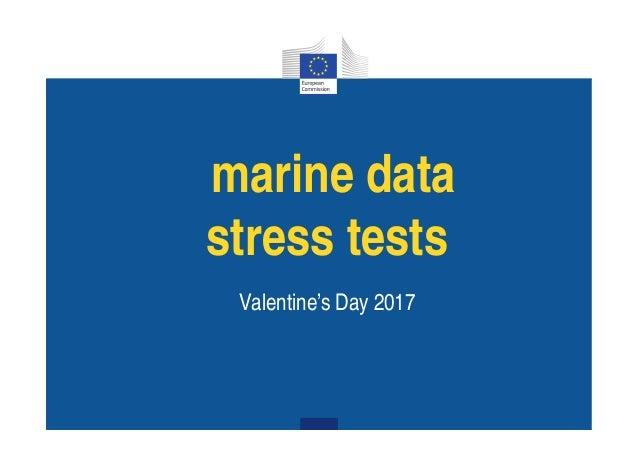 ari e data stress tests Va e ti e's Day 2017