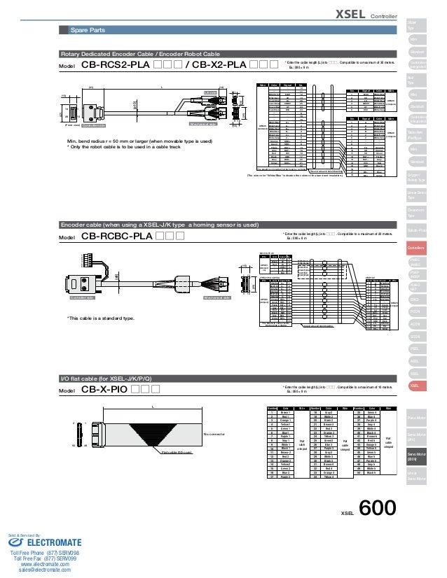 iai xsel controller specsheet rh slideshare net Mic Wiring Diagrams CB Radio Wiring Diagram