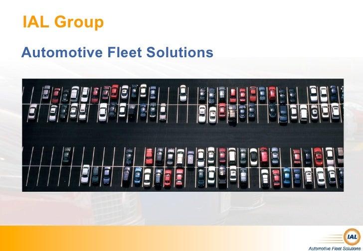IAL GroupAutomotive Fleet Solutions
