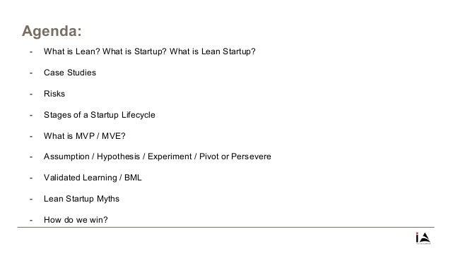 Lean Startup 101 at India Accelerator Slide 2