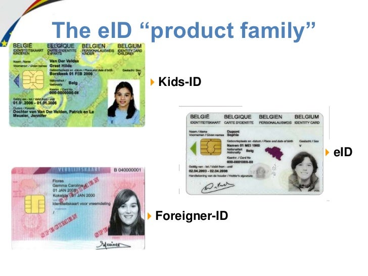 how to get belgium id card
