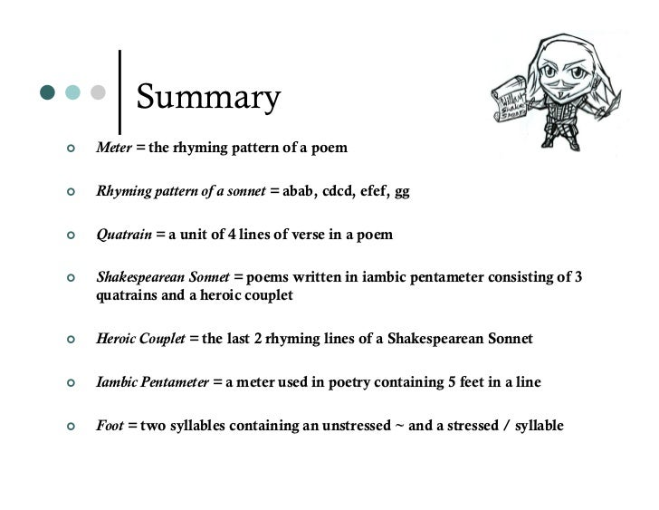spanish tragedy iambic pentameter There are lots of english poems in iambic meter with 8, 10, or 14 syllables per  line, and they  when you were translating from french tragedy.