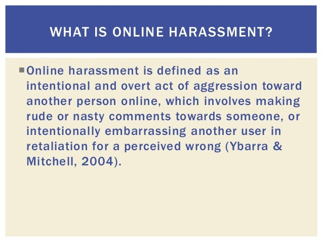 IAMCR: Women Journalists and Online Harassment: Impact and Consequences Slide 3