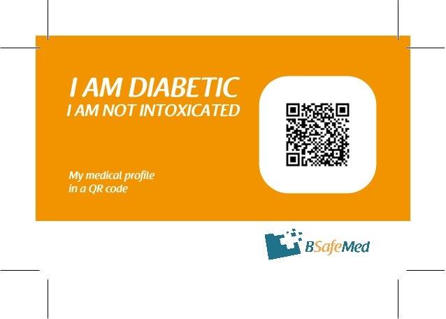 I am diabetic d