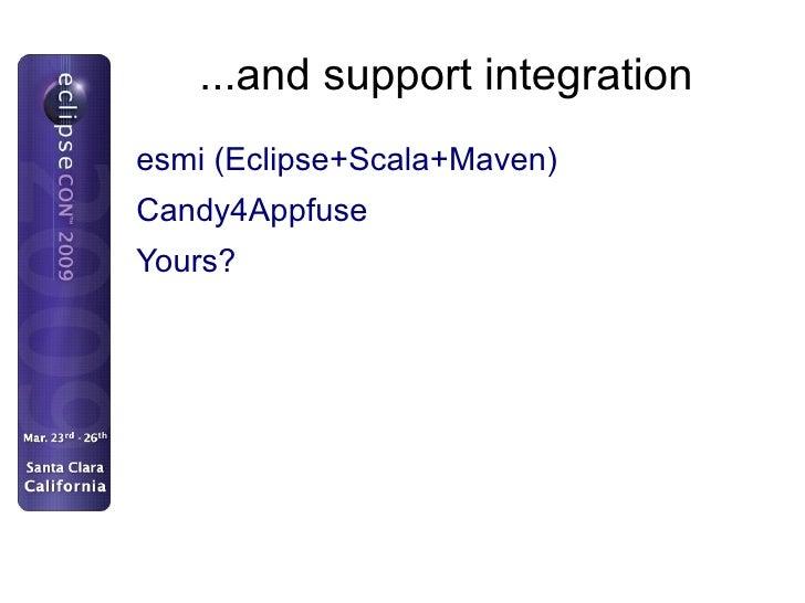 Simplify <ul><li>Make using Maven in Eclipse easy