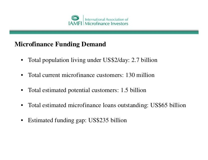 Microfinance Investment Due Diligence For Financial And
