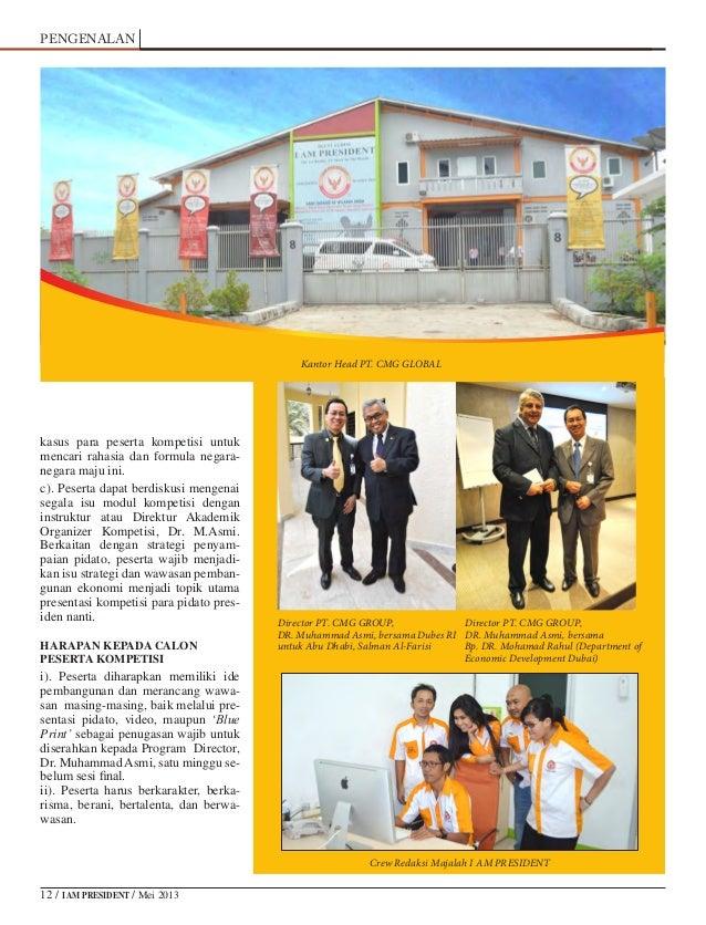 Majalah I Am President Edisi Juni 2013