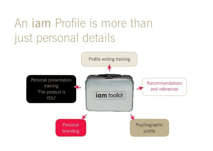 iam profile introduction 2011
