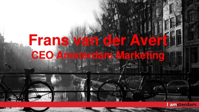 Frans van der Avert CEO Amsterdam Marketing