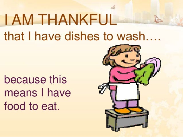 WHAT ARE YOU THANKFUL FOR? Slide 2