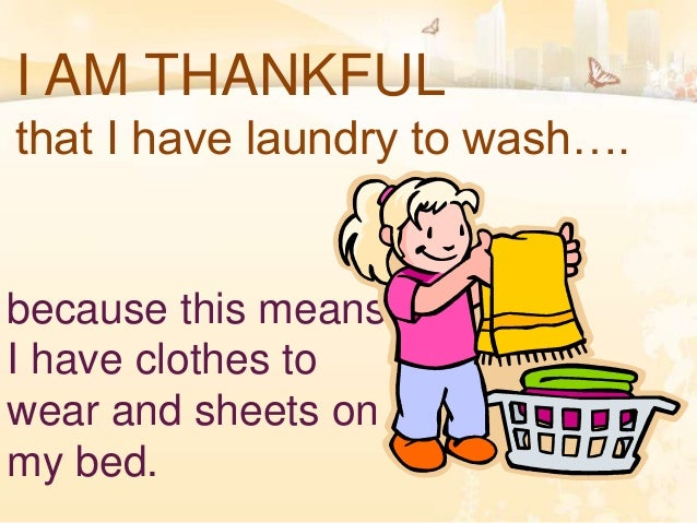 WHAT ARE YOU THANKFUL FOR? Slide 3