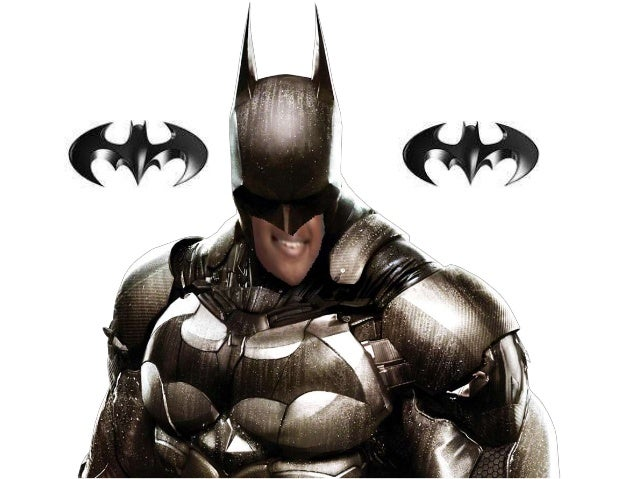 I am the batman Slide 2