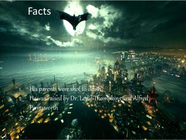 I am the batman Slide 3