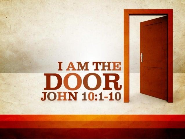 & I Am the Door