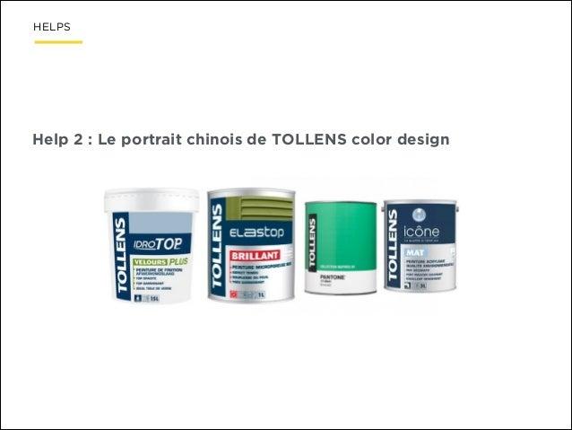 HELPS  Help 2 : Le portrait chinois de TOLLENS color design