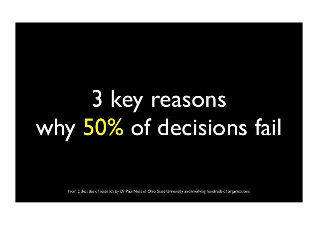 why decisions fail paul nutt pdf