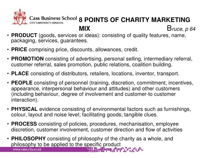 charity marketing plan How to write a marketing plan for your nonprofit organization to write an effective marketing plan for your organization that will provide you with the insights and guidance you need to stand out from your competitors, you will have to take a step back for a moment and conduct a situational.