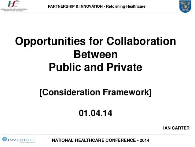 PARTNERSHIP & INNOVATION - Reforming Healthcare ____________________________________________________________________ _____...