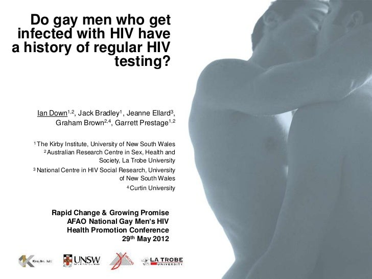 Why do gay people have hiv