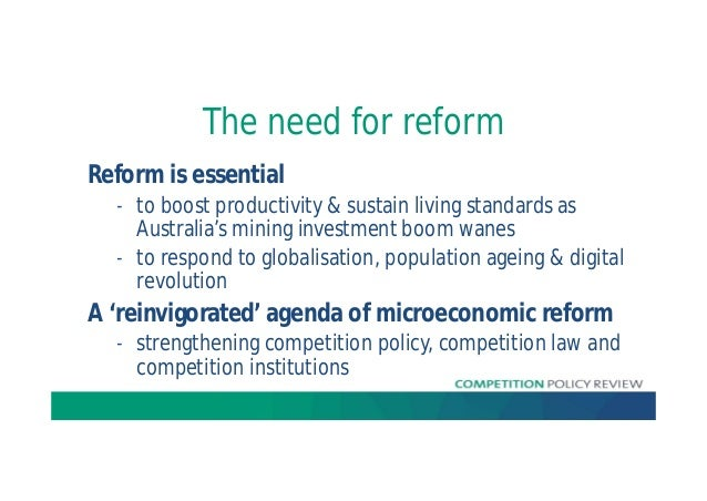 Ian Harper - 2015 AICD Conference - Competition Policy Review Slide 3