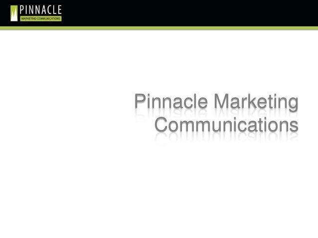 Pinnacle Marketing  Communications