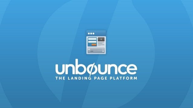 Ian Lurie CEO Portent Inc. Thank you for joining us! We'll be starting in just a few minutes #unwebinar @unbounce @portent...