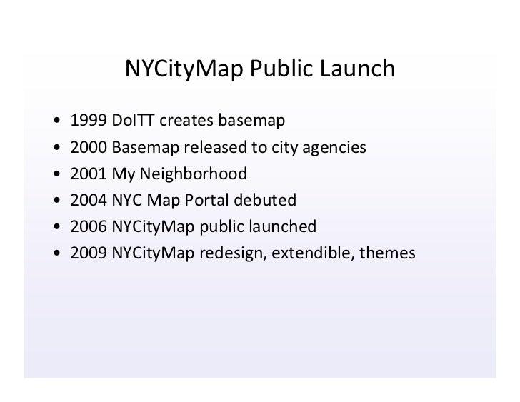 Doitt Nyc Map.Nycitymap Public Launch 1999 Doitt