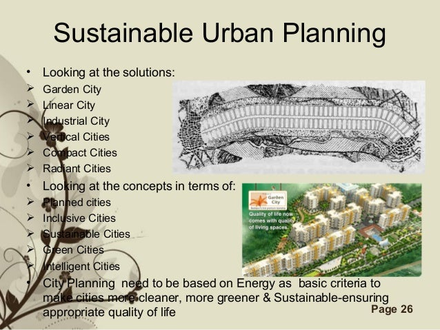 Re inventing and re defining urban planning for promoting sust priorities and preferences 26 free powerpoint templates page 26 sustainable urban planning toneelgroepblik Choice Image