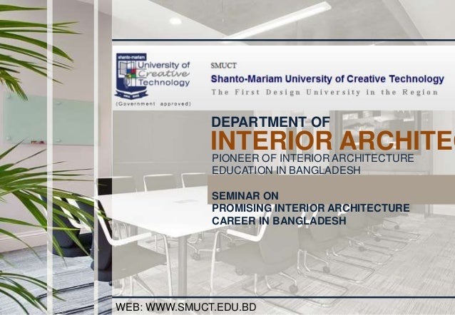 Chairman Department Of Interior Architecture