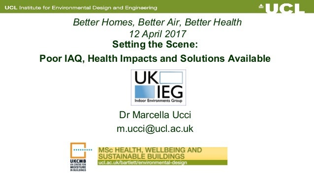 Setting The Scene Poor Iaq Health Impacts And Solutions Available