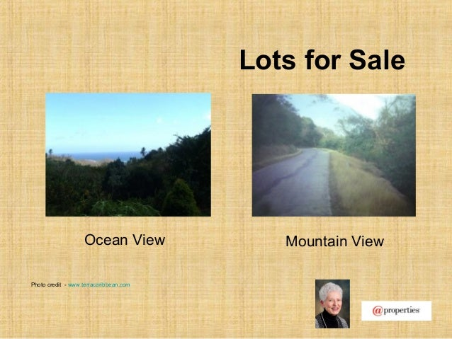Lots for SaleOcean View Mountain ViewPhoto credit - www.terracaribbean.com