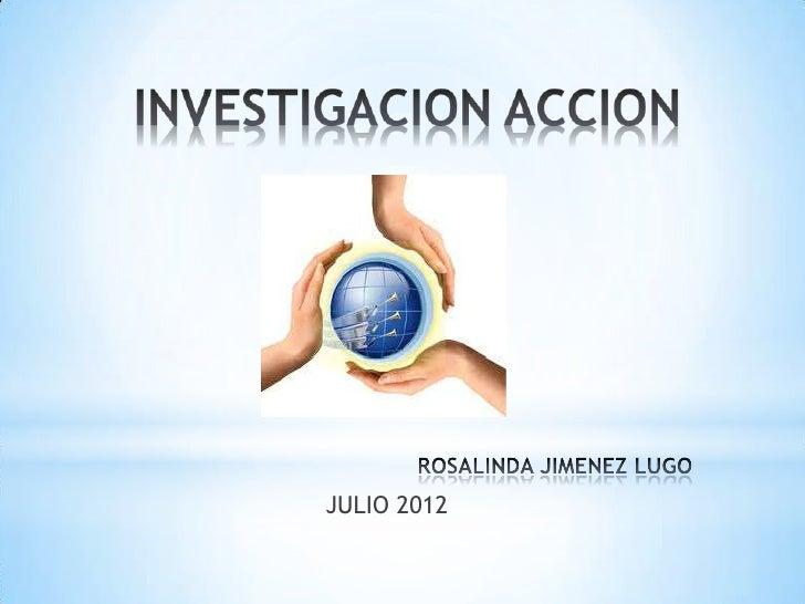 JULIO 2012