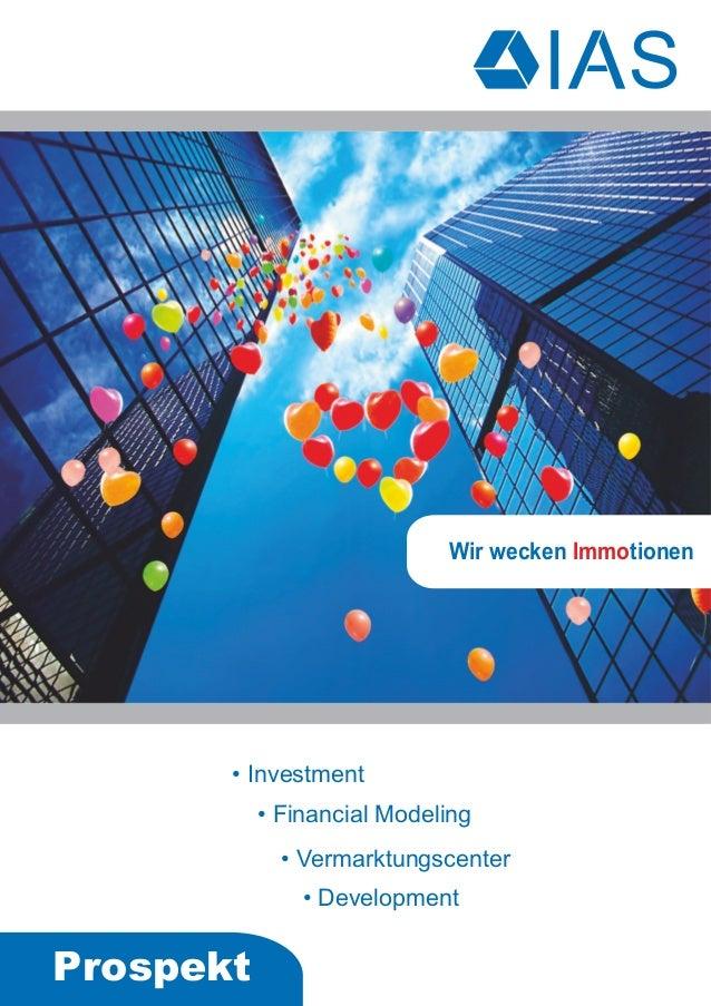 IAS-Immobilien - Immobilienmakler Mannheim - Firmenprospekt