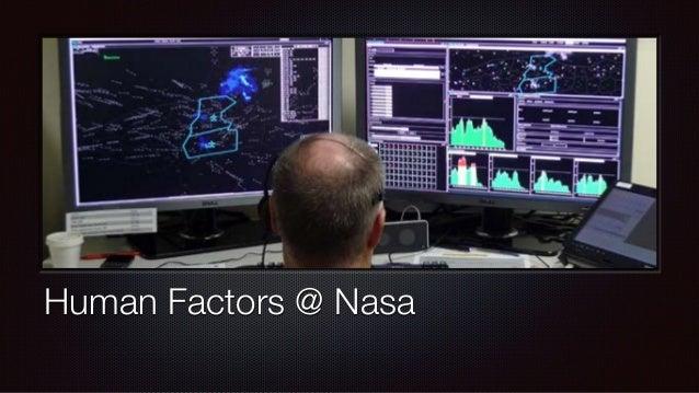 Human Factors @ Nasa
