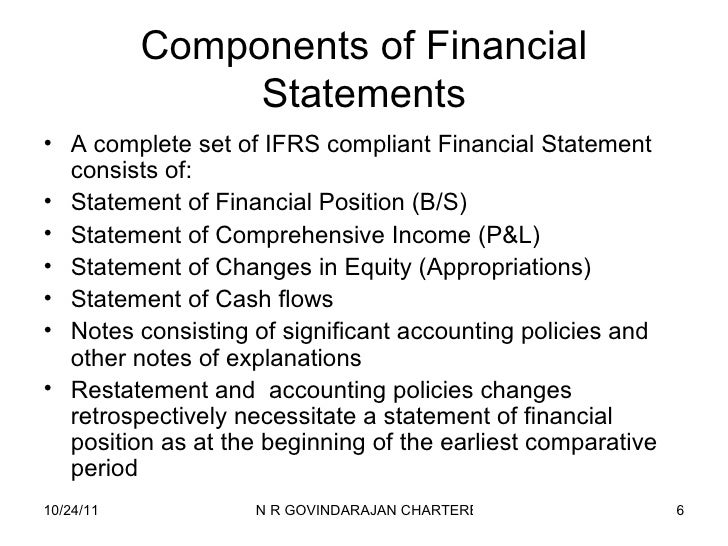 Ias  Presentation Of Financial Statements