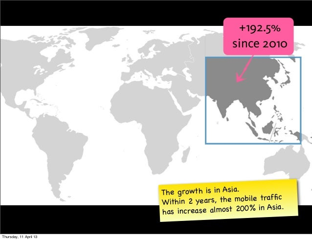 +192.5%                                           since 2010                        The growth is in Asia.                ...