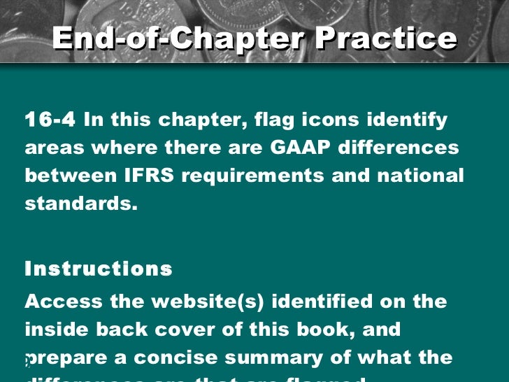 IFRS 1 Summary : First-time Adoption of IFRS