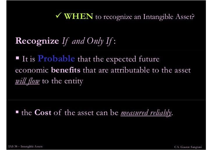 ias 38 O ias 38 intangible assets estabelece procedimentos a serem adotados na  vi  - ativos intangíveis originados de benefícios aos empregados (ias 19.