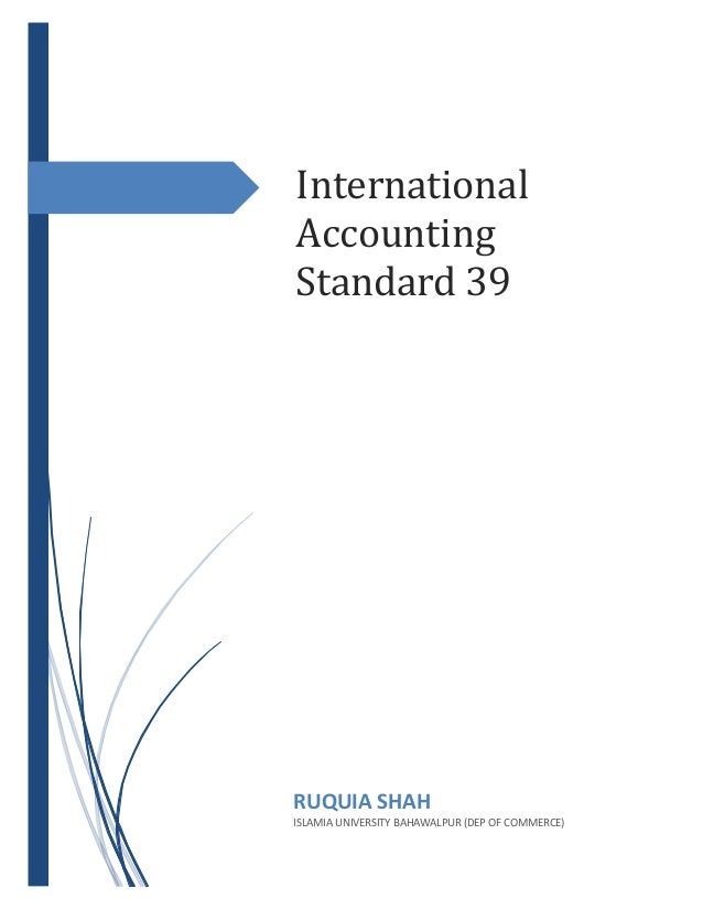 international financial accounting standards Ifrs training courses the transition around the world to international financial reporting standards (ifrs) - which were formerly known as international accounting standards (ias) - is the most important development ever seen in the world of accounting.