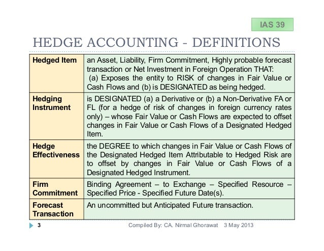 fair value accounting and managers' hedging The development of accounting standards reveals that the historical cost accounting (hca) is being replaced by the fair value accounting (fva) paradigm fva, in contrast to hca that hides the real financial position and income, is more value relevance.