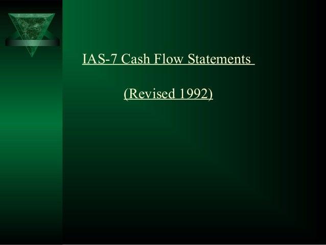 IAS-7 Cash Flow Statements (Revised 1992)