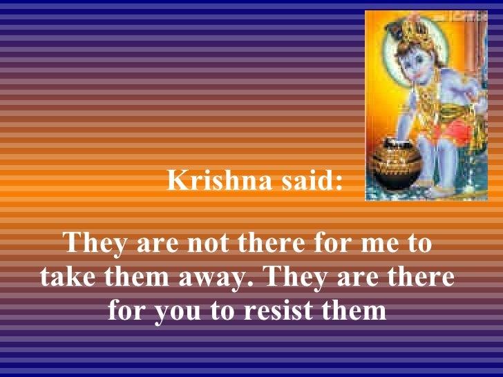 I Asked Krishna Slide 3