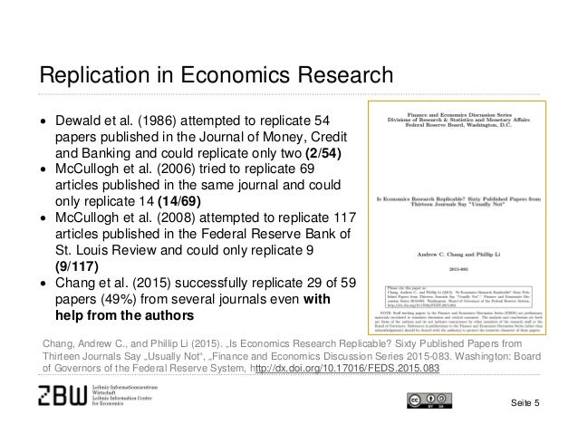 economic research paper Established in 1947, research in economics is one of the oldest general-interest economics journals in the world and the main one among those based.